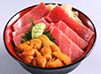 Finest uni fatty tuna bowl