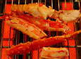 Fried king crab